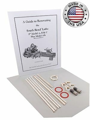 South Bend Lathe 9 Model C - Rebuild Manual Parts Kit
