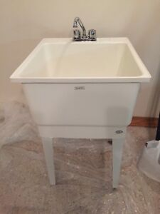 LAUNDRY TUB with TAPS