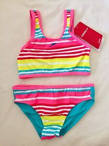 Girls speedos 2 piece BNWT Size 7 West Ryde Ryde Area Preview