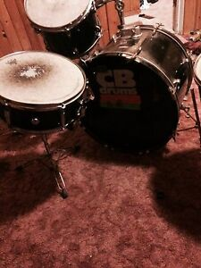 Cb Kit, Zildjian Pitchblacks, Gibraltar 5611