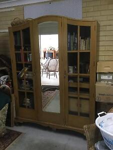 Antique timber amoire cabinet beautiful Tuncurry Great Lakes Area Preview