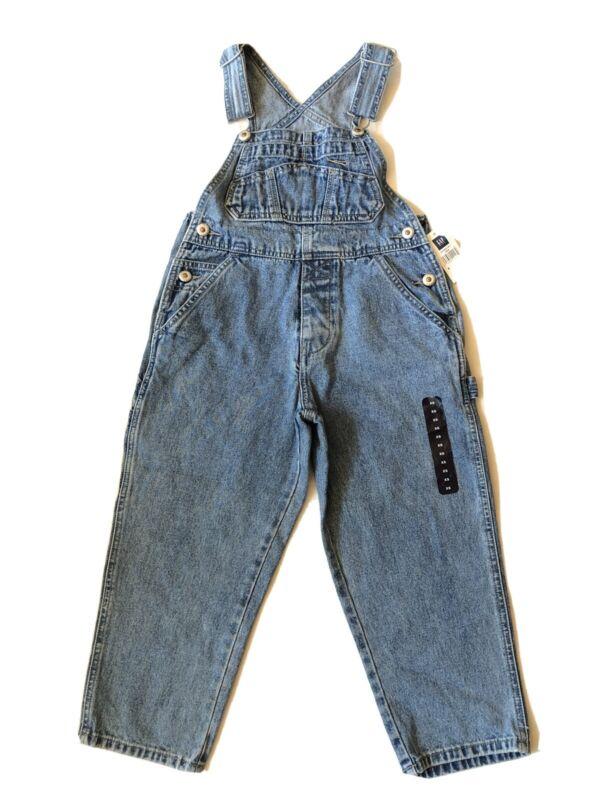 Vintage Gap Carpenter Overalls Boy Girl Size XS Unisex Denim Dungarees Hong Kong