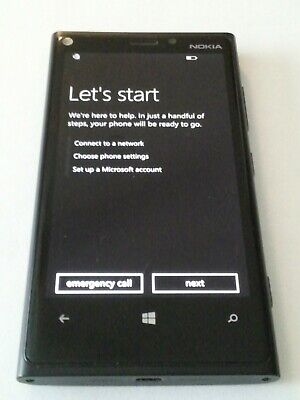 Nokia Lumia 920 32GB AT&T T-Mobile 4G LTE (GSM Global Unlocked) Smartphone