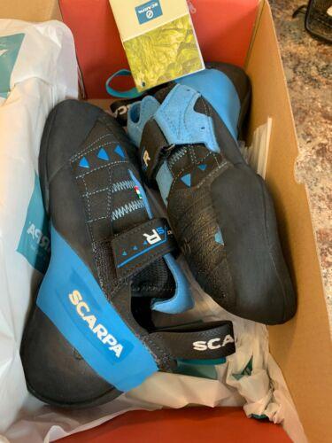 SCARPA Instinct VSR Climbing Shoe BLACK/AZURE  70015-000