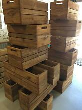 Wooden Crates & more, Multi application, from $30 Burleigh Heads Gold Coast South Preview