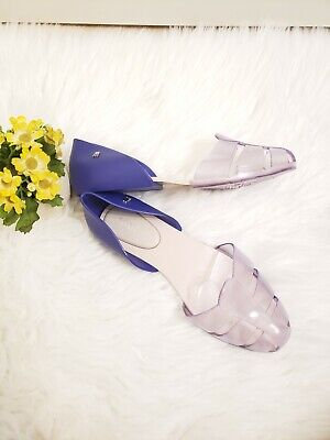 "Melissa Jellies Flats ""Planehits"" Size 9 Shoes"
