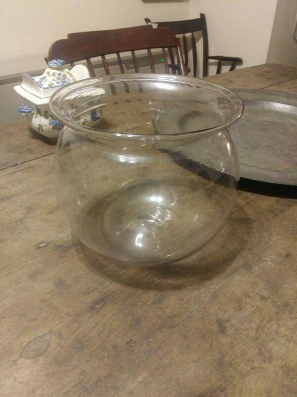 Early Blown Glass Bowl w/ Pontil 19th C.