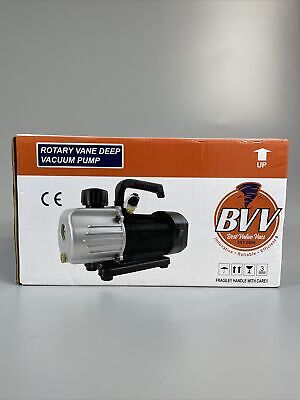 Best Value Vacs Single Stage Vacuum Pump Bvv130 16hp 3cfm New