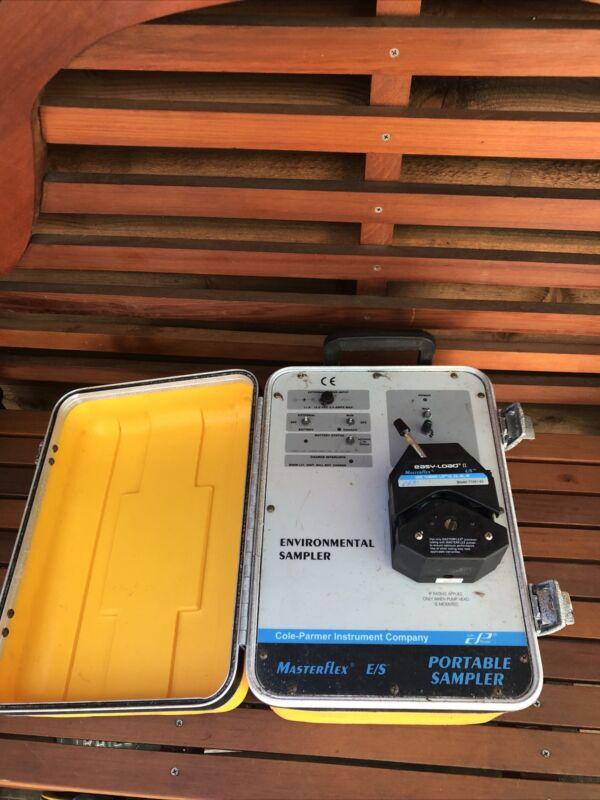 Masterflex E/S Portable Sampler - Cole Parmer -environmental Sampler Easy Load
