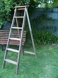 Vintage Wooden A Frame Ladder Ladders Scaffolding Gumtree