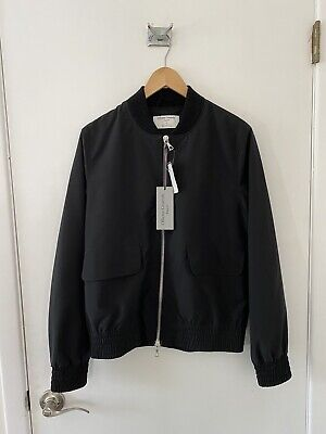Officine Generale Men's Zip Jacket - Small - Black - Brand New With Tags
