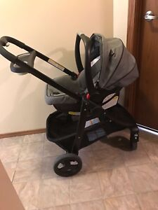 Graco stroller & carseat & base