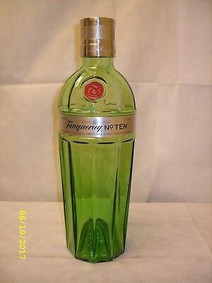 "Tanqueray No. 10 Gin - 17.5"" / 3 Liter Glass Advertising Dummy Display Bottle"