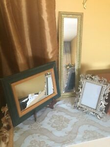 2 mirrors and frame