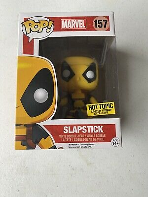Funko POP! Marvel: Deadpool Slapstick #157 - Hot Topic Exclusive Not Mint