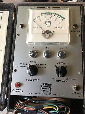 Vintage B K Crt Cathode Rejuvenator Tester Model 400
