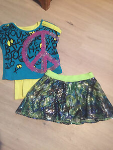 Justice outfit. Size 6