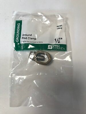 Pro Connex Ground Rod Clamp 12 Lot Of 9