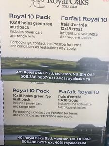 Royal Oaks 18 Holes Green Fees with Cart