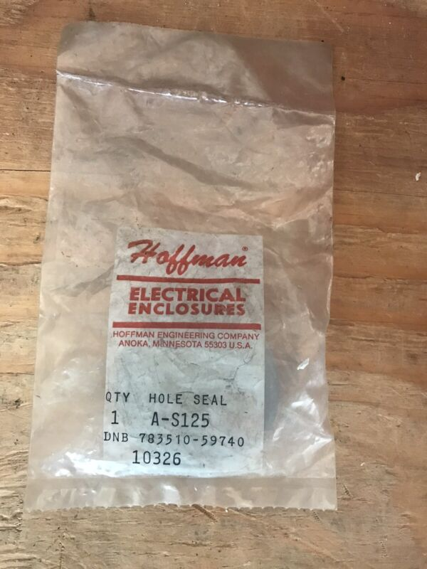 """Hoffman A-S125 Hole Seal 1.25"""" Electrical Enclosures Knock Out Plug 59740"""
