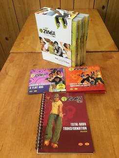 ZUMBA Fitness 4 Disc DVD Box Set+Total Body+Live