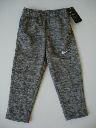 NWT Boy size 4T - Nike Taper Therma Fit Bottom - Warm - Gray / White Logo
