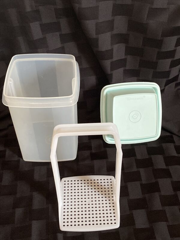 Vintage Tupperware Pick a Deli Pickle Keeper 3 Piece Container 8.5 Cups