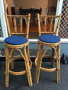Cane bar stools Bulli Wollongong Area Preview