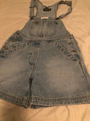 Polo Jeans Ralph Lauren Womens Denim Shortalls Blue Overall Shorts Vintage Ralph Lauren Polo Shortalls