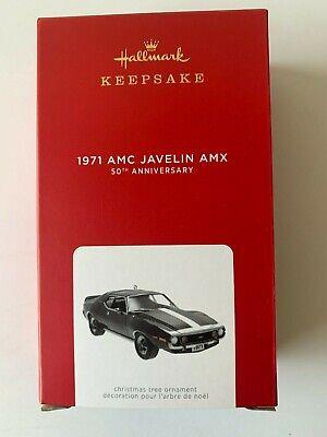 2021 Hallmark Ornaments 1971AMC Javelin AMX Wheel Turns (50th Anniversary)