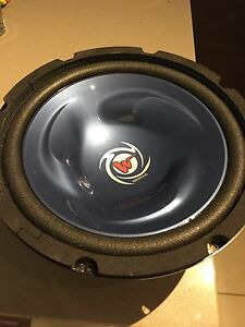 """2 x 10"""" kenwood old school subwoofers barely used"""