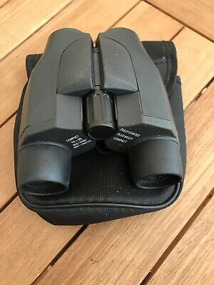 Compact Binoculars 10 X 25 Fully Coated Pocket Size Carry Case Belt Loop