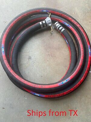 Petroleum Tank Suction Hose Suction And Discharge Hose With Fittings 2 X 10ft