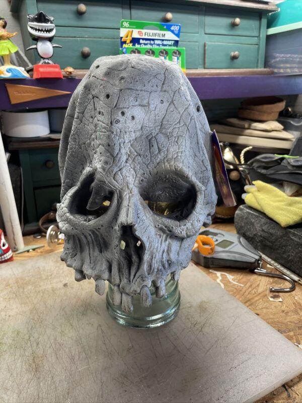 Vintage Halloween Illusive Concepts Inc Horror Skull Mask