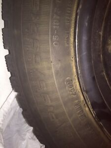 Winter tires on rims 195/65/15