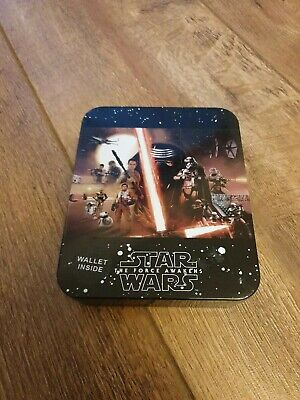 Star wars leather wallet and tin
