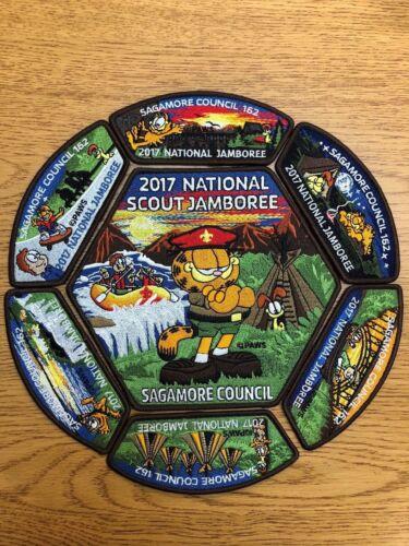 Jamboree Sagamore Council 2017 Patch Set