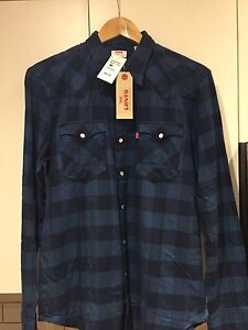 LOT OF 3 LEVIS SNAP UP SHIRTS