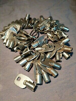 1 Ace Tubular 7-cut Key For Coca-cola Pepsi Soda Machines Vending Machine Key