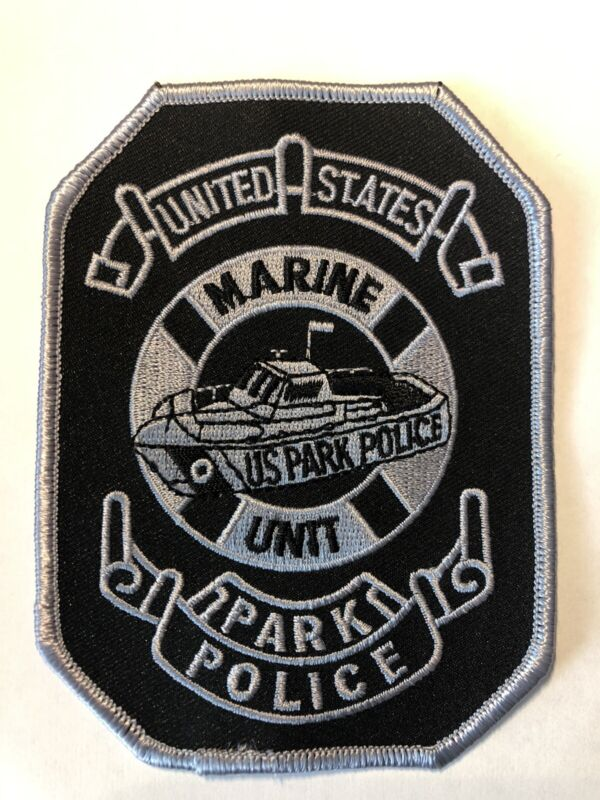 United States Park Police Marine Unit Patch ~ New Condition