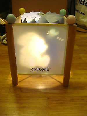 Carters Just One Year 13087 Nursery Lamp Night Light Baby Kids Toddler Room
