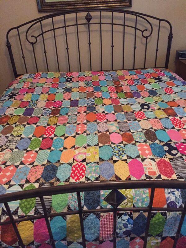 Handmade Quilt- Lozenge beauty