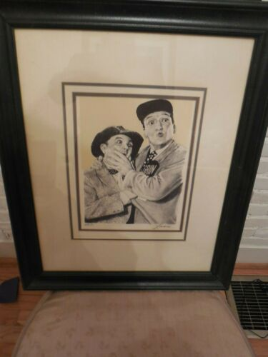 LANSE LITHOGRAPH ANDY Griffin Show Barney & Goober