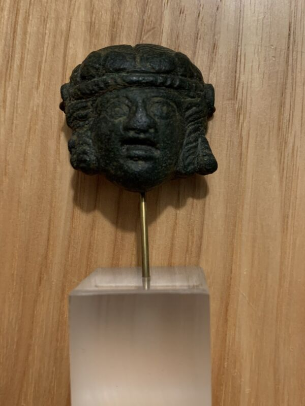 Ancient Bronze Bust - Roman or Greek Guaranteed Authentic!