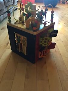 Wooden Activity Cube 1-3 years