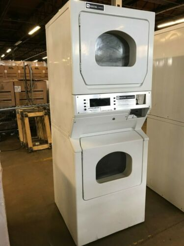 MLG15PD Coin Operated Maytag Single Load Commercial Stack Dryer, Used