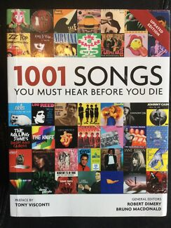1001 songs you hear before you die by Robert Dimmery. Nic's books