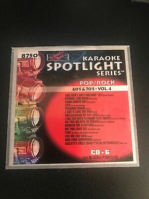 Sound Choice Karaoke Spotlight Series CDG 8750 60's & 70's - Vol. (Sound Choice Spotlight)