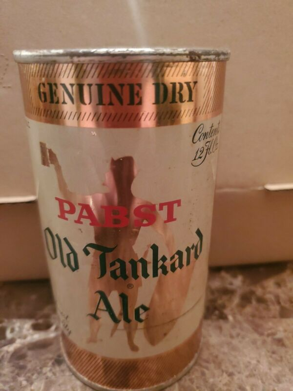 Pabst Old Tankard Ale  Flat Top Empty Can