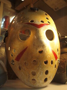 HOCKEY MASK - JASON VS. FREDDY FRIDAY THE 13TH Mask - Horror  - Halloween
